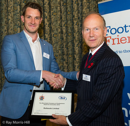 Rollasole, winners of the Worshipful Company of Cordwainers Award for Innovation in 2014